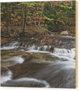Pemigewasset River Wood Print