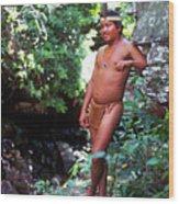 Pemon Tribe Wood Print