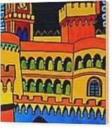 Pena Palace Portugal Wood Print
