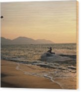 Penang Sunset Wood Print