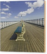 Penarth Pier 9 Wood Print