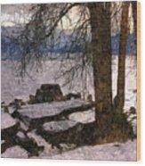 Pend D'oreille Lake 3 Wood Print