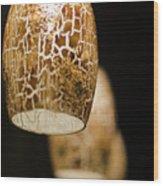 Pendant Lights Wood Print