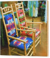 Pendleton Chairs Wood Print