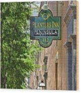 Peninsula Grill Charleston1028 Wood Print