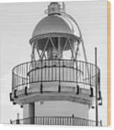 Peniscola Lighthouse Of Spain Wood Print