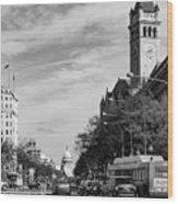 Pennsylvania Avenue Wood Print