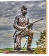Pennsylvania Cavalry - Culps Hill Wood Print