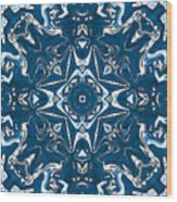 Pennsylvania Dutch Kaleidoscope Wood Print