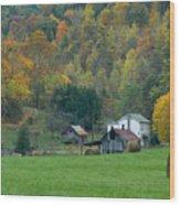Pennsylvania Farm Wood Print