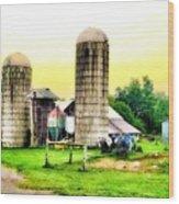 Pennsylvania Farming  Wood Print