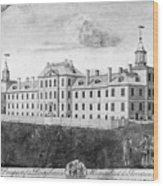 Pennsylvania Hospital, 1755 Wood Print by Granger