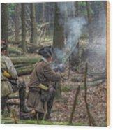 Pennsylvania Hunter Wood Print by Randy Steele