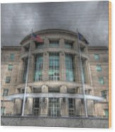 Pennsylvania Judicial Center Wood Print