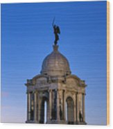 Pennsylvania Monument At Gettysburg Wood Print