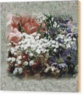 Penny Postcard Romantica Wood Print