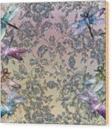 Penny Postcard Tiffany Wood Print