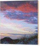 Pensacola Sunset After The Storm Wood Print