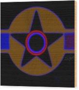 Pentagram Wood Print