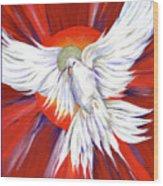 Pentecost Dove Wood Print
