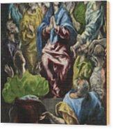 Pentecost Wood Print