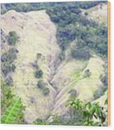 Penuelas, Puerto Rico Mountains Wood Print