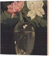 Peonies 1905, By Samuel John Peploe Wood Print