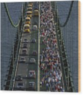 People Participating In The Annual Wood Print by Phil Schermeister