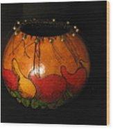 Pepper Gourd Wood Print