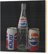 Pepsi Cola Wood Print