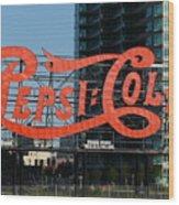 Pepsi-cola Wood Print