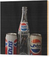 Pepsi From Around The World Wood Print
