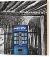 Pepsi Generation Palm Springs Wood Print