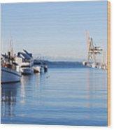Percival Landing Wood Print