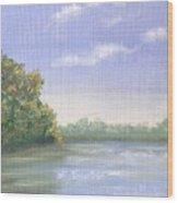 Percuil River, Cornwall Wood Print