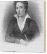Percy Shelley (1792-1822) Wood Print