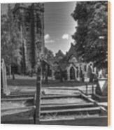Perditit Ecclesia Quattuor Wood Print