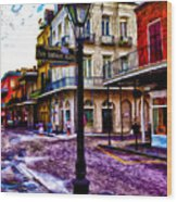 Pere Antoine Alley - New Orleans Wood Print