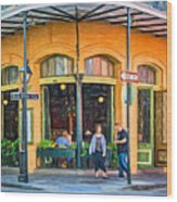 Pere Antoine Restaurant - Paint Wood Print
