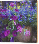 Perennial Flowers Y2 Wood Print