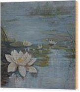 Perfect Lotus - Lmj Wood Print