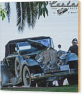 Perfect Packard Wood Print