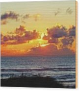 Perfect Sunset Cannon Beach I Wood Print