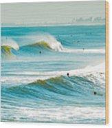 Perfect Surf Wood Print