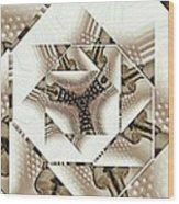 Perforated  Wood Print