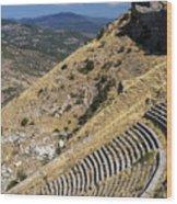 Pergamon Amphitheater Wood Print