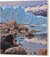 Perito Moreno 001 Wood Print
