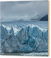 Perito Moreno Glacier Pano Wood Print
