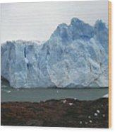 Perito Moreno Wood Print