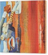 Perma Rust Wood Print